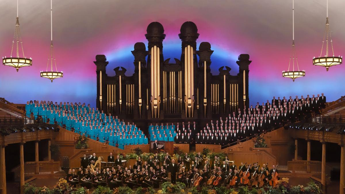 The Tabernacle Choir and Orchestra at Temple SquareVerdensberømt...