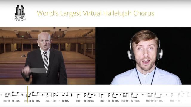 Mormon Tabernacle Choir inviterer fans til at synge med i et virtuelt hallelujah kor